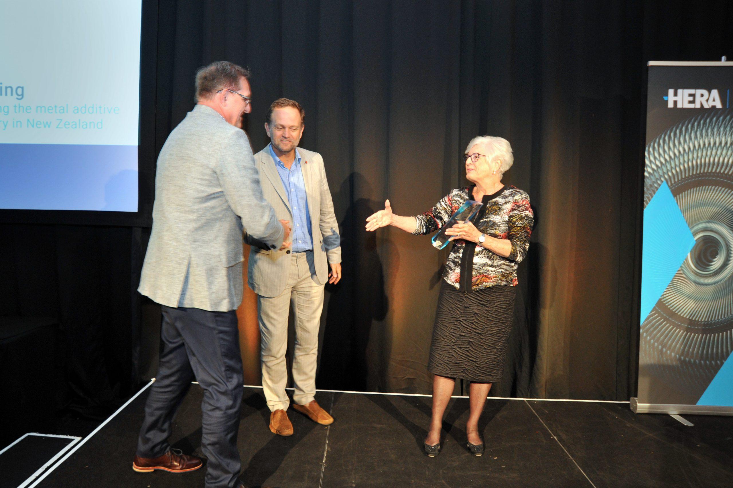 Awarding Keith Smith
