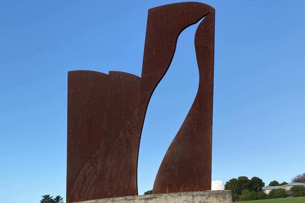 weathering steel art